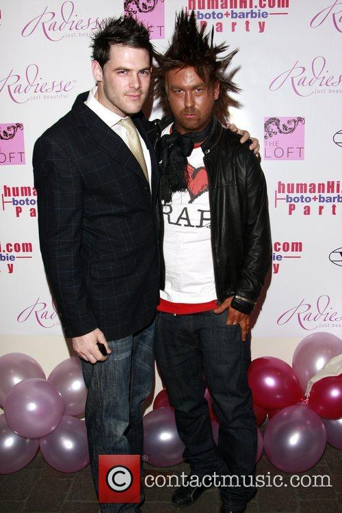 Joe Crawford and Guest HumanHi Botox themed party...