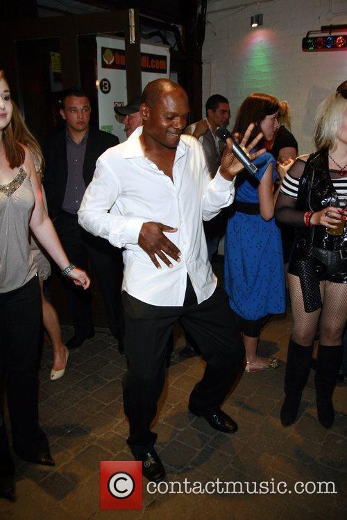 Omar Simon HumanHi Botox themed party held at...