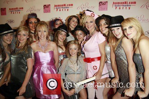Sarah Burge and Guests HumanHi Botox themed party...