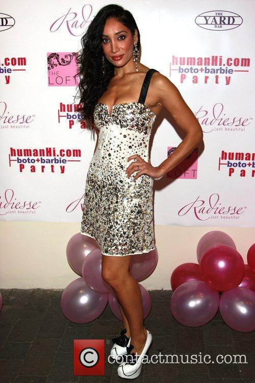 Sophia Hyatt HumanHi Botox themed party held at...