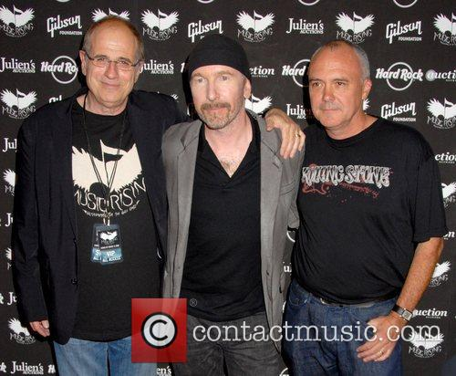 Bob Ezrin, The Edge and Hamish Dodds Icons...