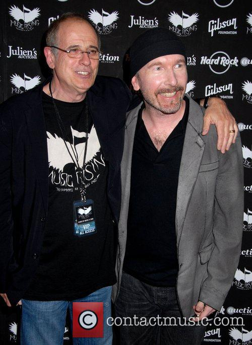 Bob Ezrin and The Edge Icons Of Music...