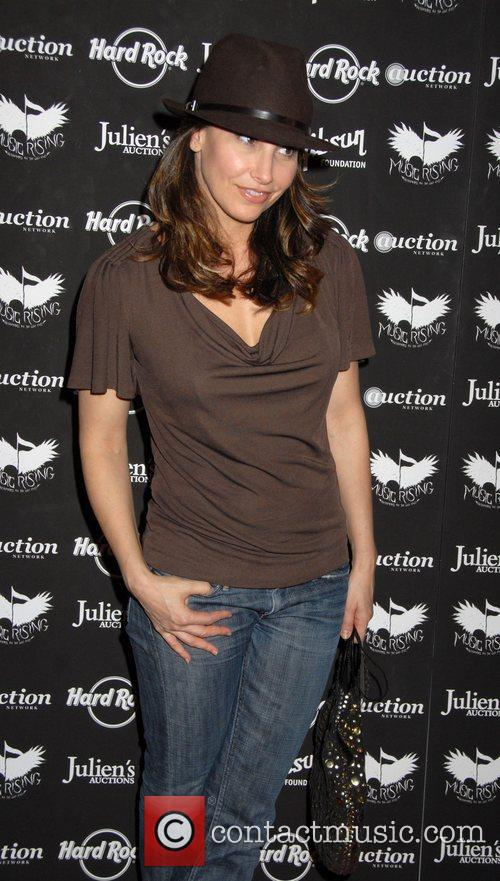 Gina Gershon Icons Of Music II auction benefiting...
