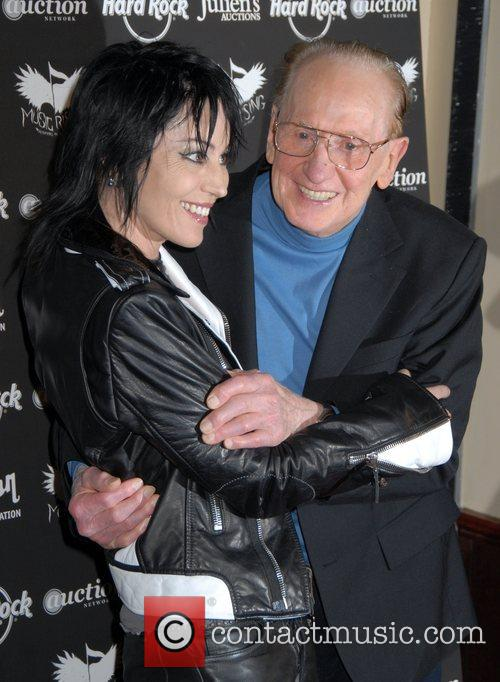Joan Jett and Les Paul 2