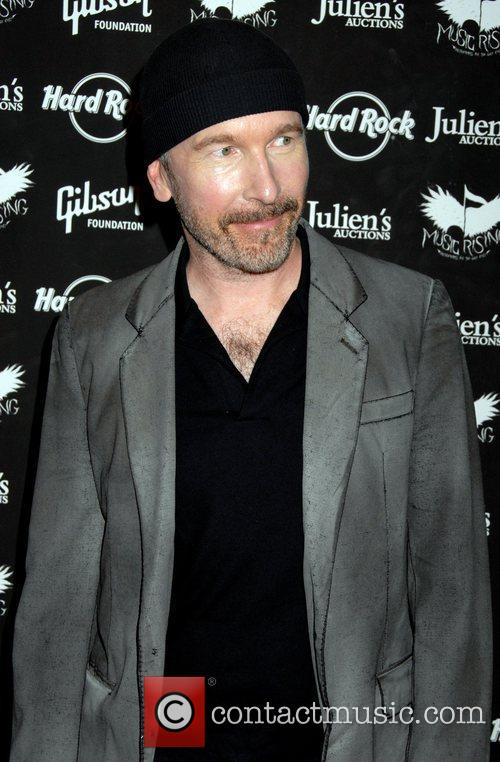 The Edge Icons Of Music II auction benefiting...