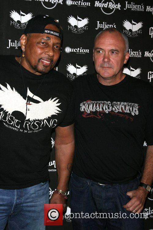 Aaron Neville and Hamish Dodds 5