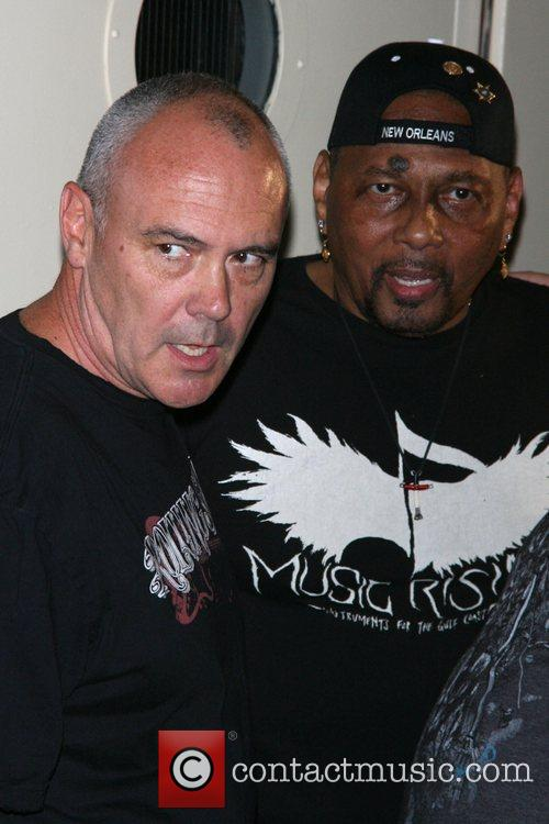 Aaron Neville and Hamish Dodds 6