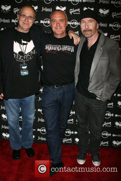 Bob Ezrin and The Edge, Hamish Dodds Icons...