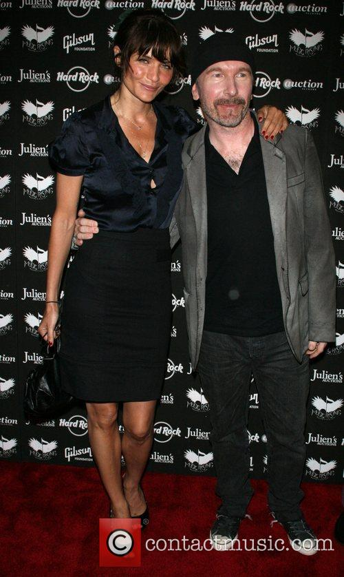 Helena Christensen and The Edge Icons Of Music...