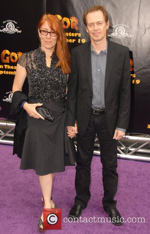 Steve Buscemi and wife Jo Andres 'Igor' premiere...