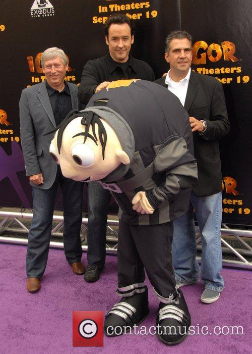 John Cusack with producers and Igor 'Igor' premiere...