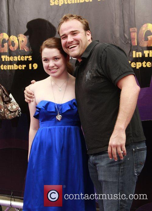 Jennifer Stone and David DeLuise 'Igor' premiere at...