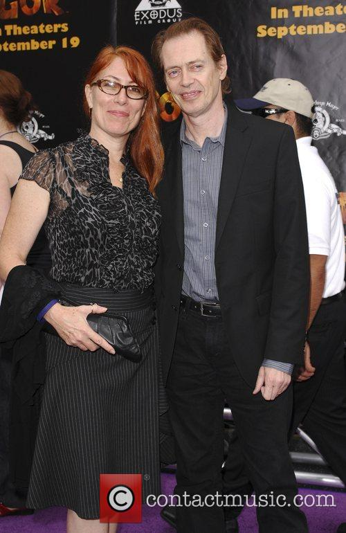 Jo Andres and Steve Buscemi 'Igor' premiere at...