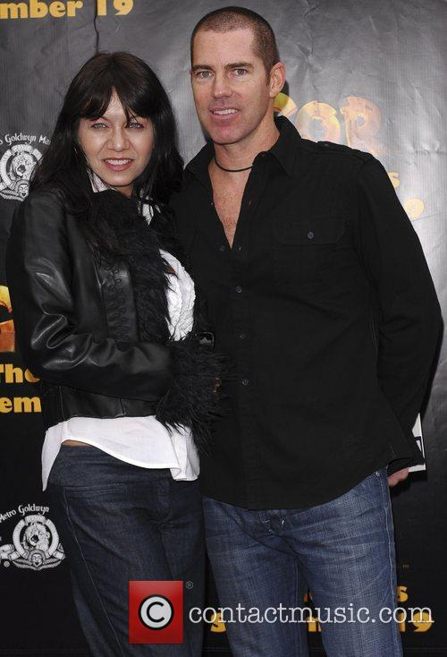 JR and wife 'Igor' premiere at Grauman's Chinese...