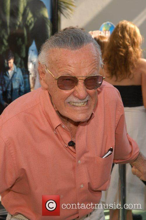 Stan Lee, Incredible Hulk and Gibson Amphitheatre 1