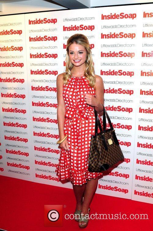 Emma Rigby  2008 Inside Soap Awards Nominations...