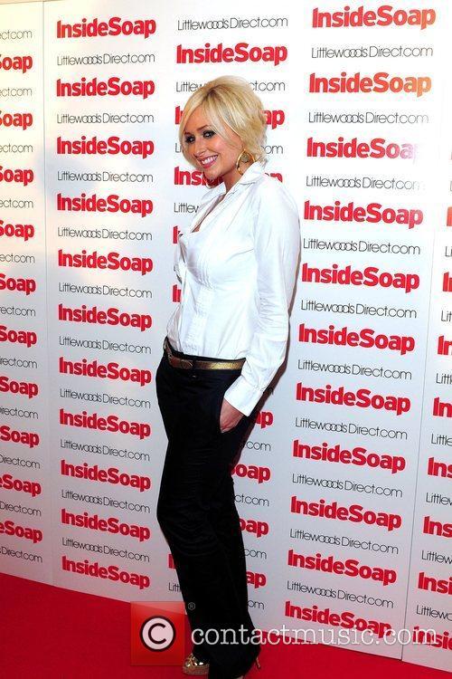 Gemma Merna 2008 Inside Soap Awards Nominations held...