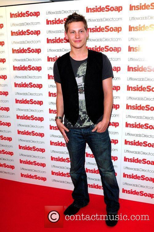 James Sutton 2008 Inside Soap Awards Nominations held...