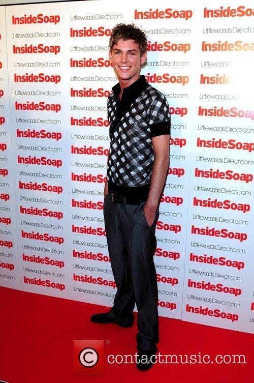 Kieron Richardson 2008 Inside Soap Awards Nominations held...