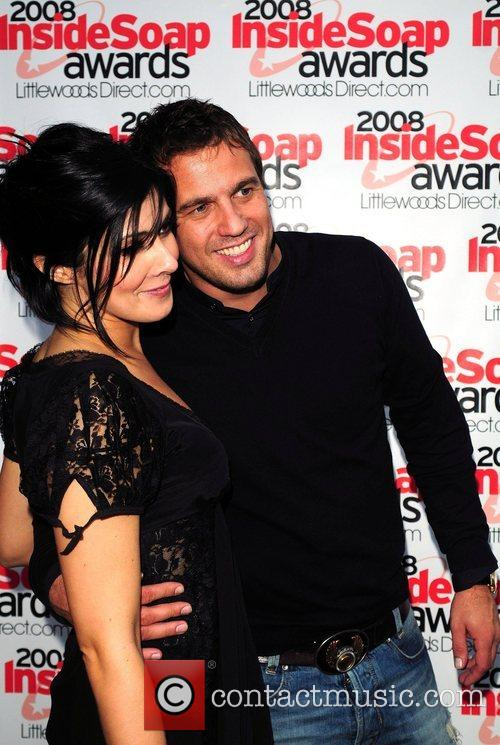 Kym Marsh and Jamie Lomas 2008 Inside Soap Awards...