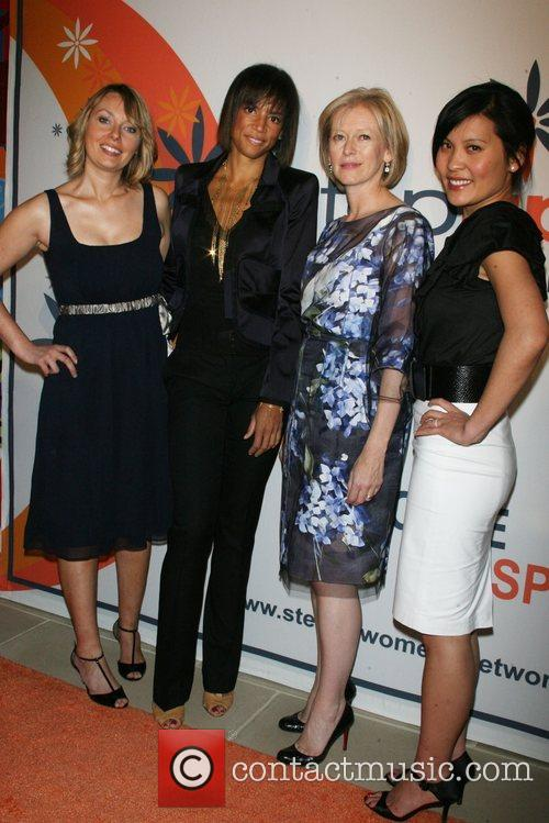 Danielle Carrig, Veronica Webb, Joanna Coles and Janelle...