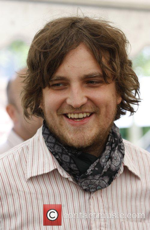 James Walsh of Starsailor backstage Isle of Wight...