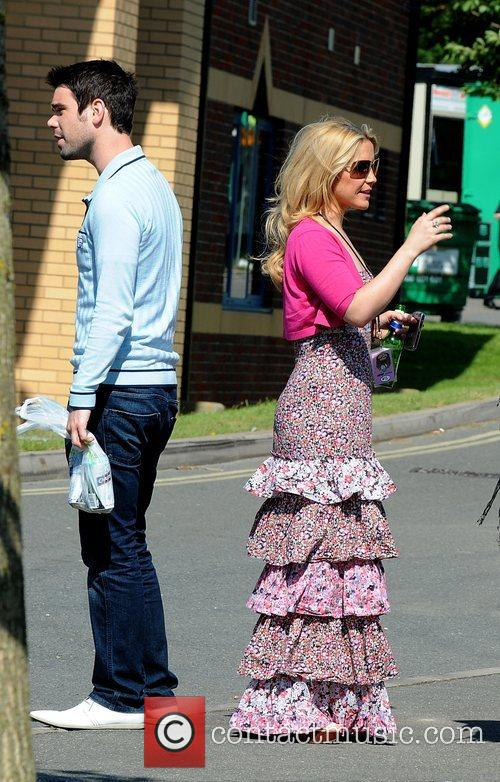Dave Berry and Heidi Range of The Sugababes...