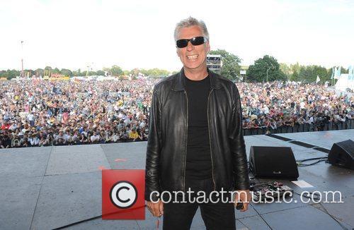 Festival Promoter John Giddings at the 2008 Isle...