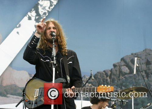 Dave McCabe of The Zutons Isle of Wight...