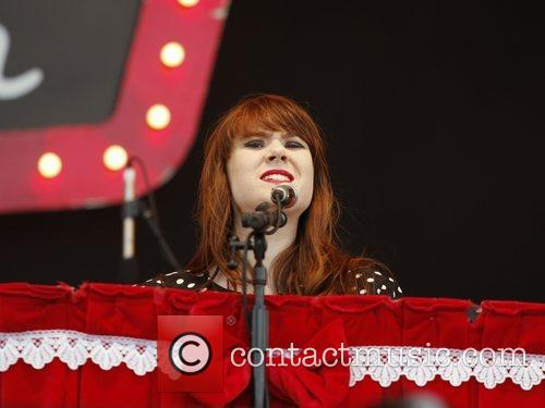 Kate Nash Isle of Wight Music Festival 2008...