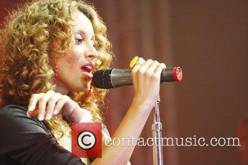 Amelie Berrebah of the Sugababes Isle of Wight...