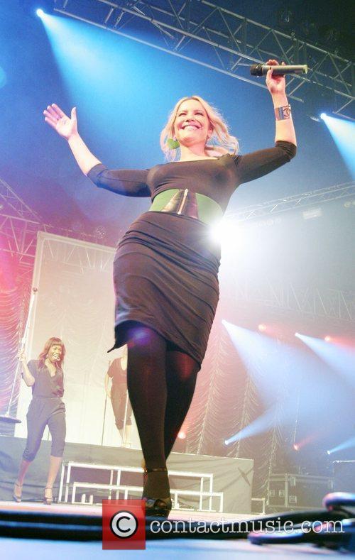 Heidi Range of the Sugababes Isle of Wight...