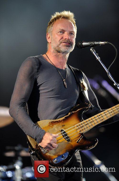 Sting aka Gordon Sumner of The Police...