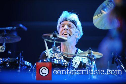 Stewart Copeland of The Police Isle of Wight...