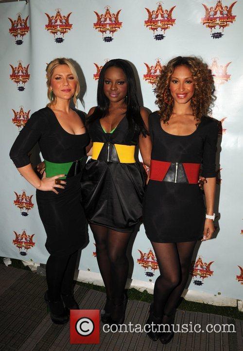 Heidi Range, Keisha Buchanan, Amelie Berrabah The Sugababes...