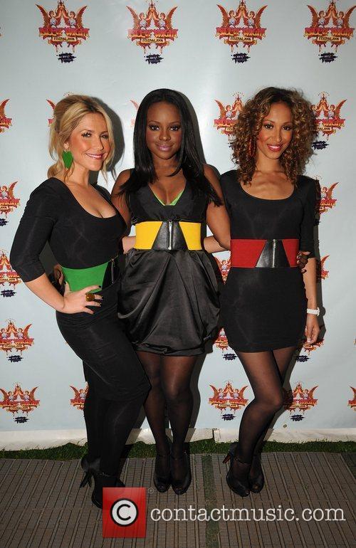 Heidi Range, Keisha Buchanan and Sugababes 3
