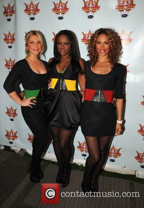 Heidi Range, Keisha Buchanan and Sugababes 4