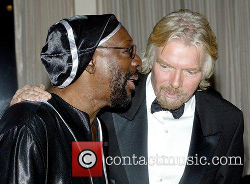 Isaac Hayes and Richard Branson 5