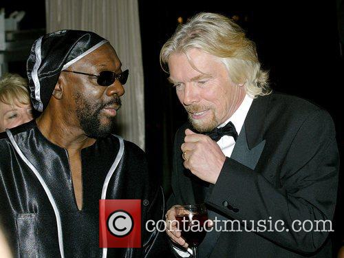 Isaac Hayes and Richard Branson 4