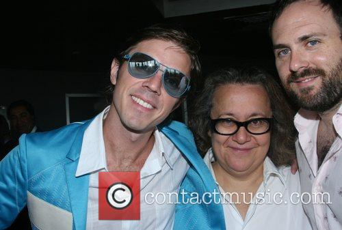 Jake Shears, Ingrid Sischy and Babydaddy