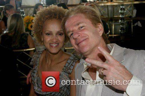 Matthew Modine and His Wife Caridad Modine 10