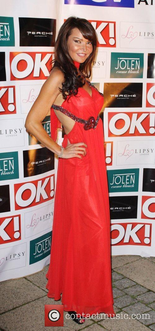 Lizzie Cundy Launch of 'ITV at the Movies'...