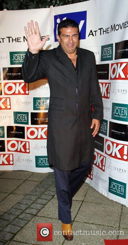 Tamer Hassan Launch of 'ITV at the Movies'...