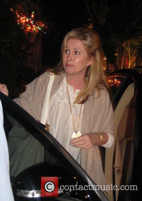Kathy Hilton leaving The Ivy restaurant Los Angeles,...