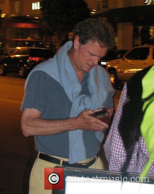 Rick Hilton leaving The Ivy restaurant