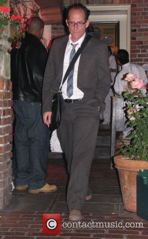 Ron Fair leaving The Ivy restaurant Los Angeles,...