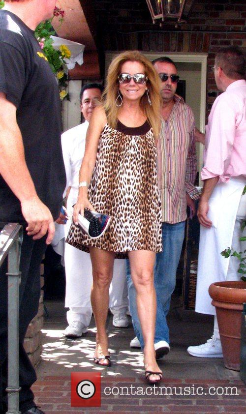 Kathy Lee Gifford leaves The Ivy on Robertson...