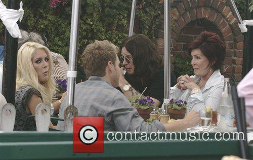 Heidi Montag, Ozzy Osbourne, Sharon Osbourne and Spencer Pratt 5