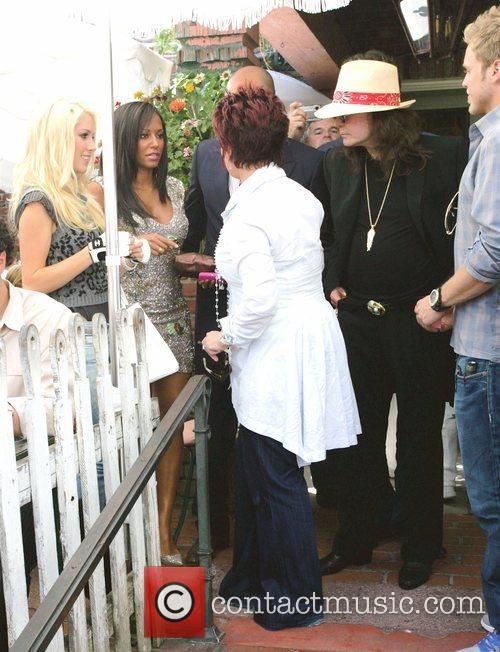 Heidi Montag, Sharon Osbourne and Spencer Pratt 7