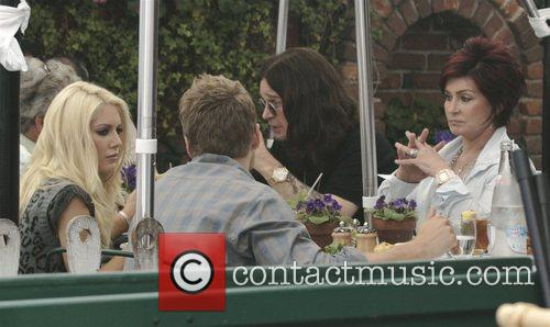 Heidi Montag, Ozzy Osbourne, Sharon Osbourne and Spencer Pratt 1